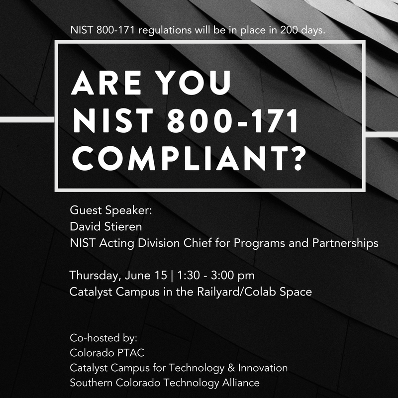 Are you NIST 800-171 Compliant?